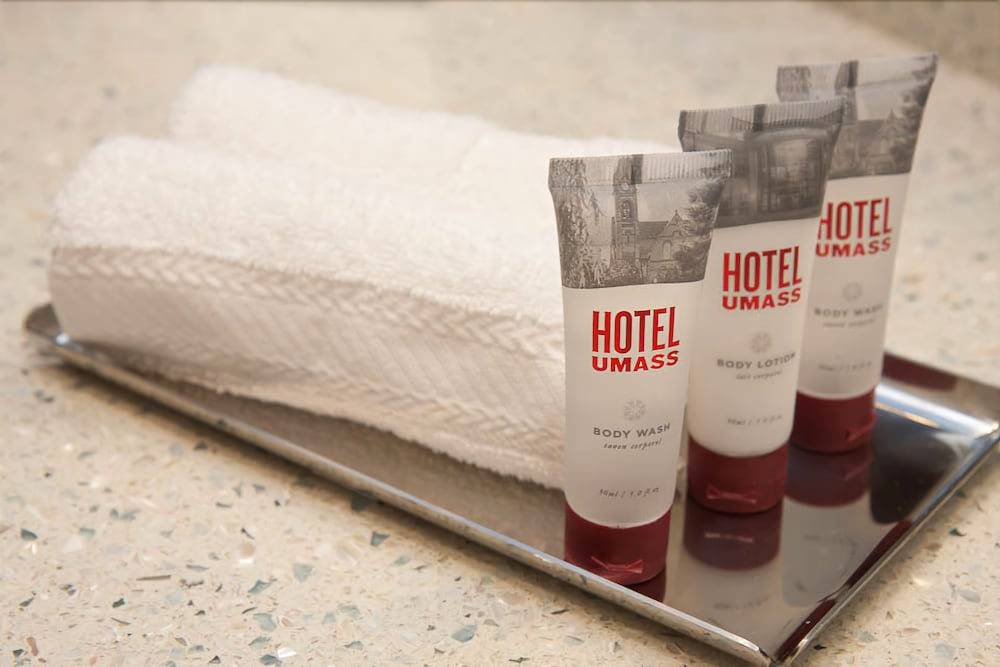Bathroom Amenities, Hotel UMass