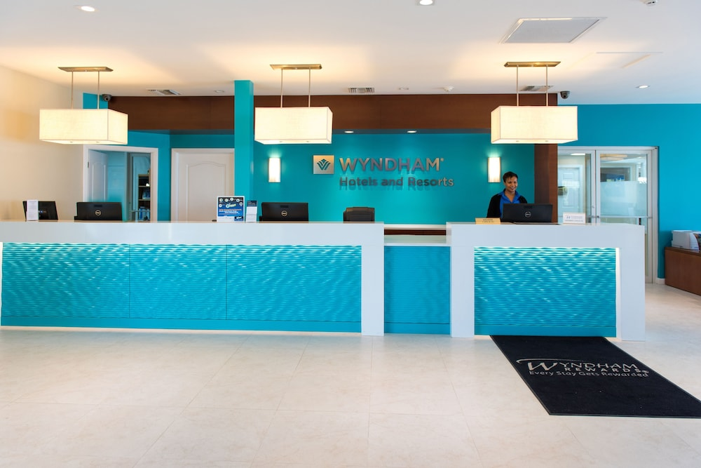 Check-in/Check-out Kiosk, Wyndham Reef Resort Grand Cayman