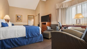 Pillowtop beds, in-room safe, blackout drapes, soundproofing
