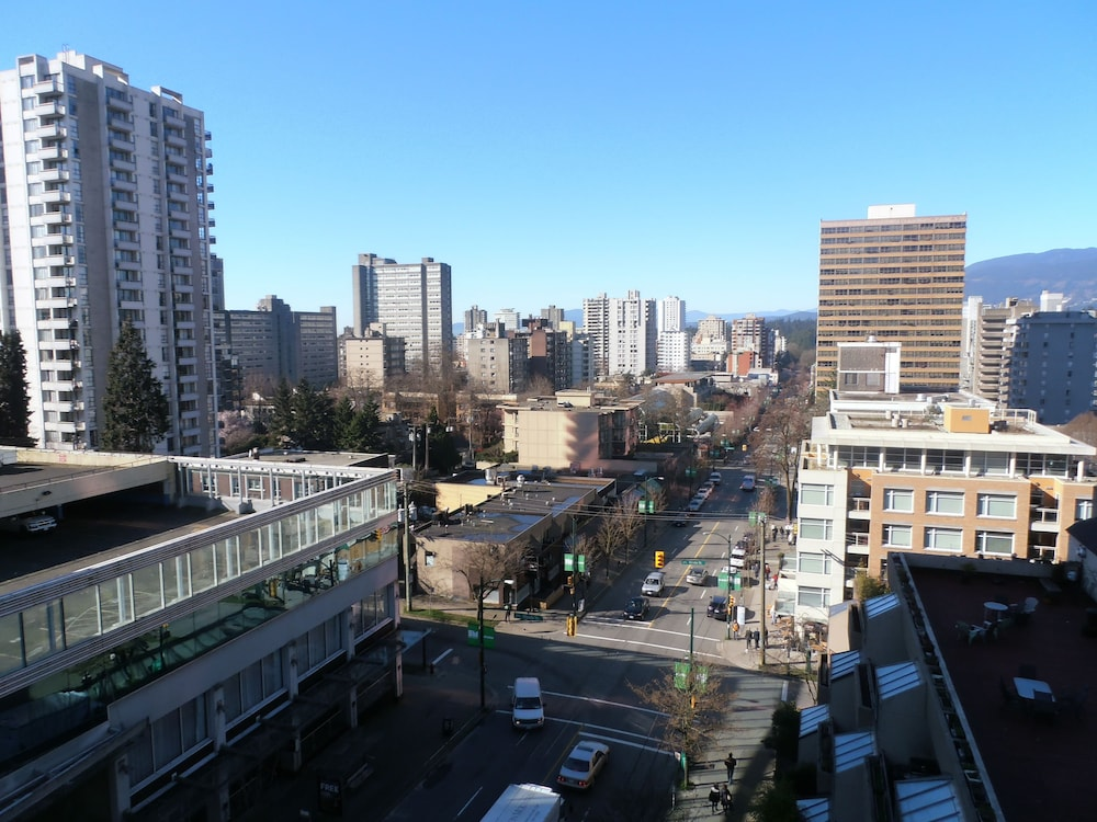 View from Property, Riviera on Robson Suites Hotel Downtown Vancouver