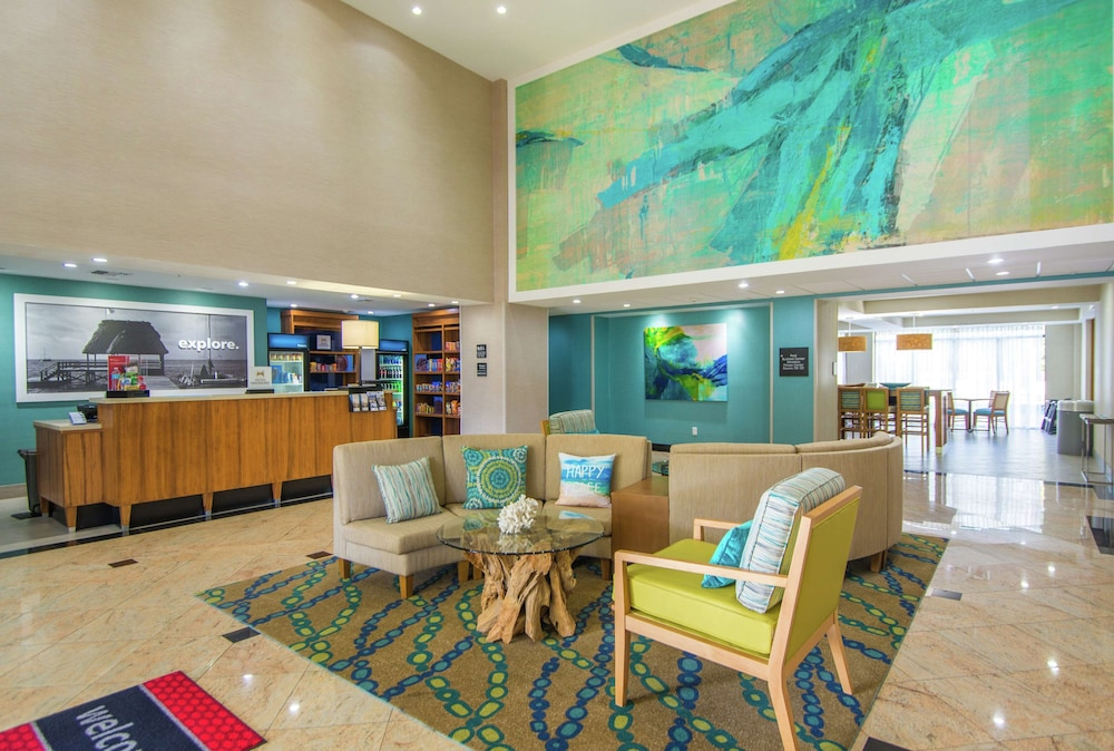 Lobby, Hampton Inn Jacksonville South/I-95 at JTB
