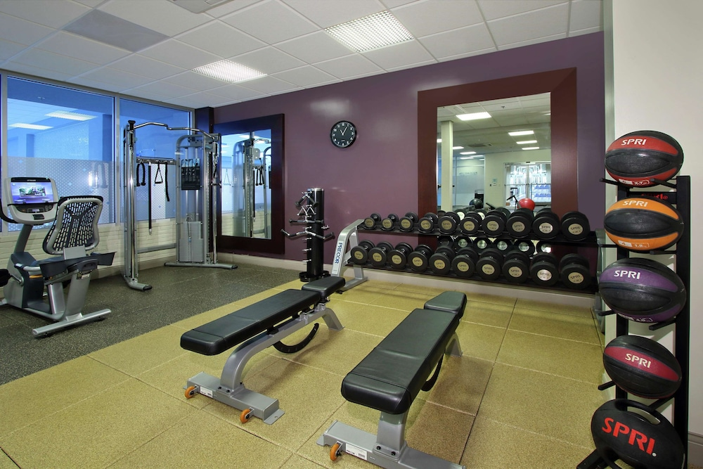 Fitness Facility, DoubleTree by Hilton Hotel Newark Ohio