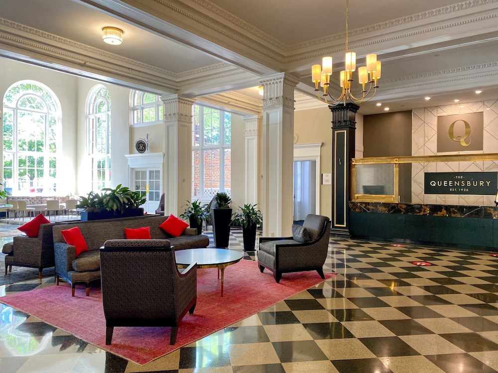 Lobby, The Queensbury Hotel