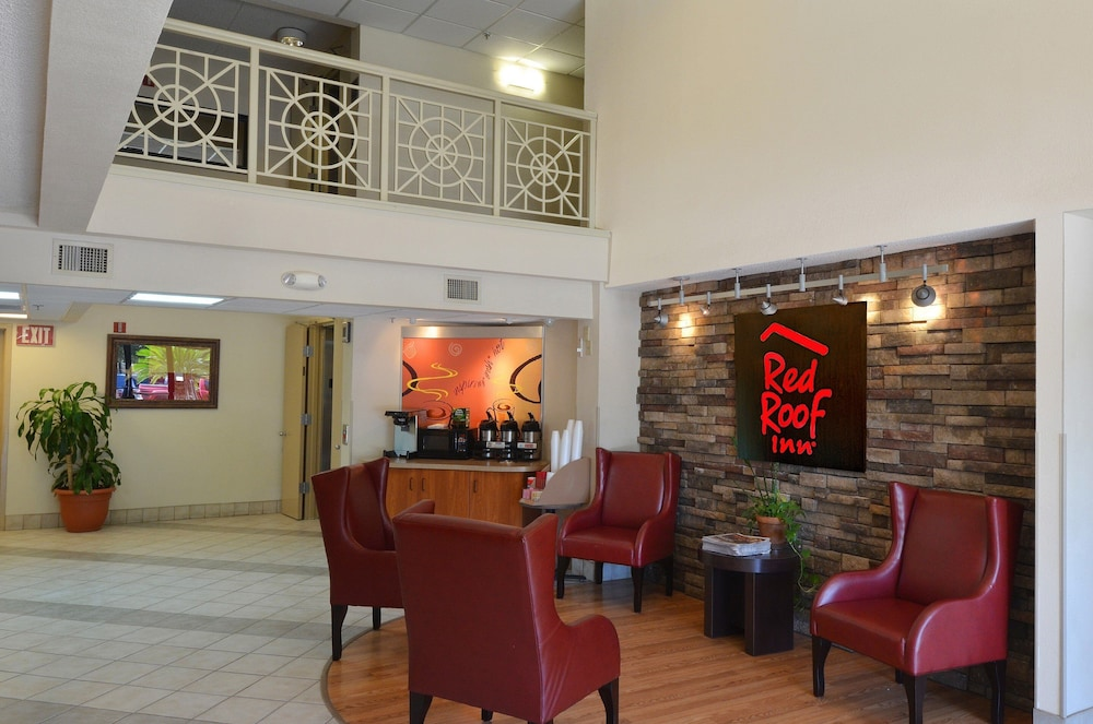 Lobby, Red Roof Inn San Antonio - Airport
