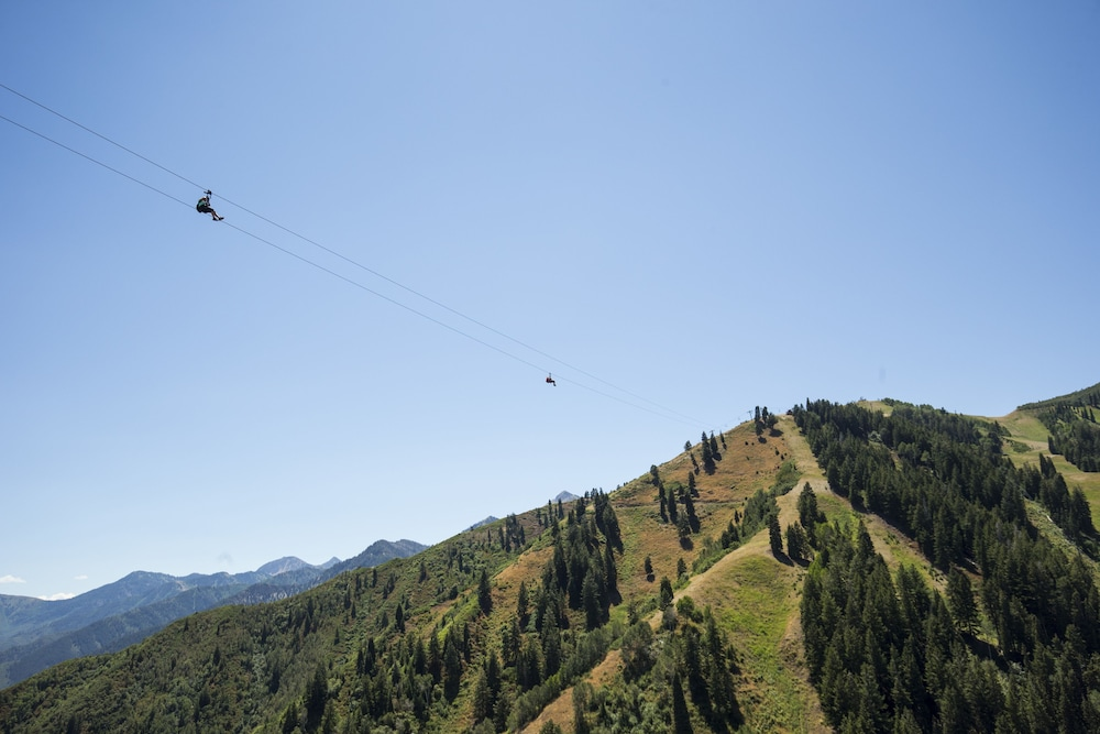 Ziplining, Sundance Mountain Resort