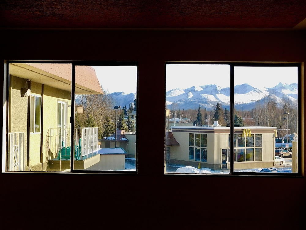 View from Property, Americas Best Value Inn & Suites Anchorage Airport