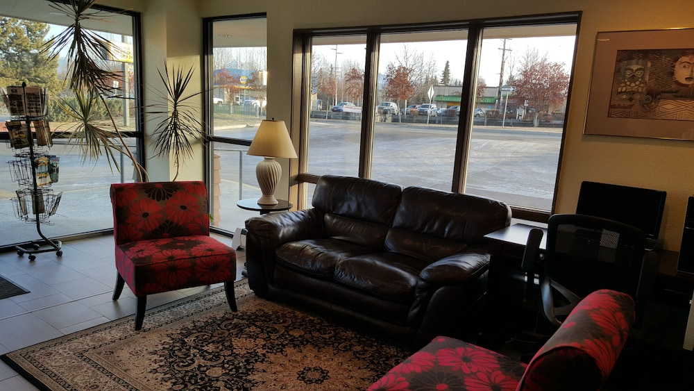 Lobby Sitting Area, Americas Best Value Inn & Suites Anchorage Airport
