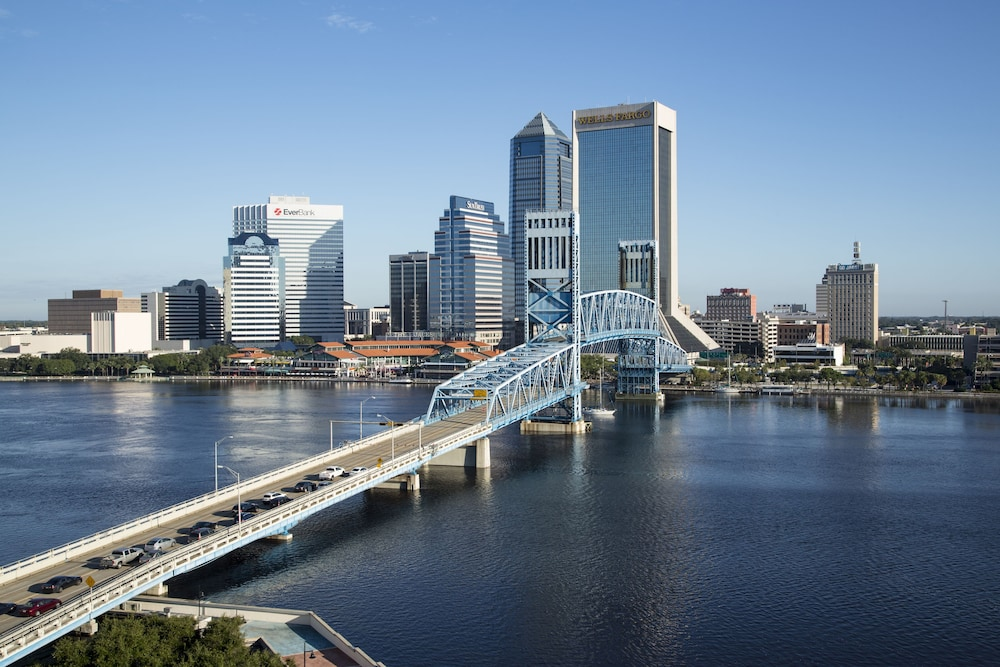 View from Property, DoubleTree by Hilton Hotel Jacksonville Riverfront