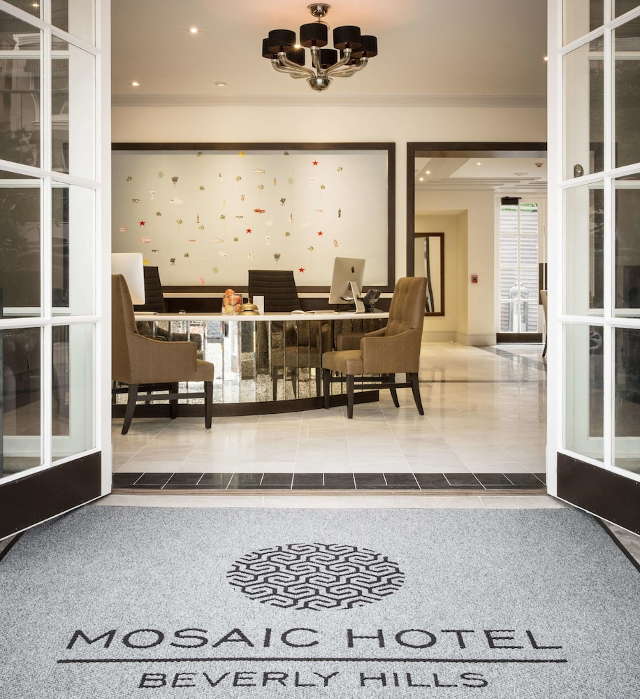 Interior, The Mosaic Hotel - Beverly Hills