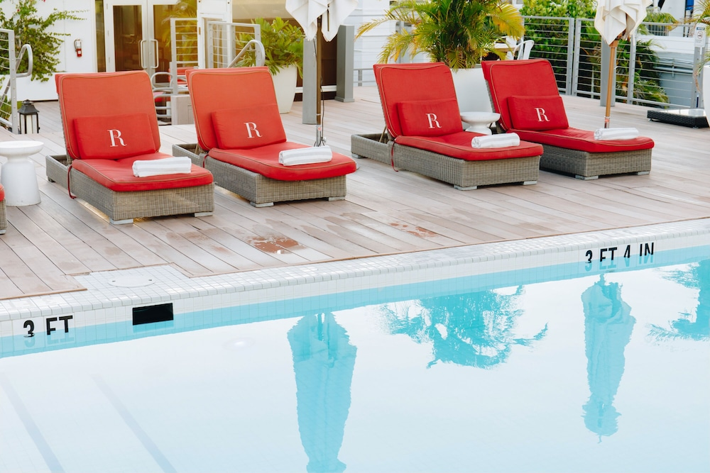 Rooftop Pool, The Redbury South Beach