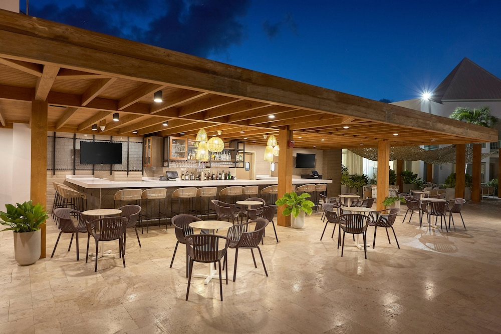 Restaurant, Courtyard by Marriott Aruba Resort