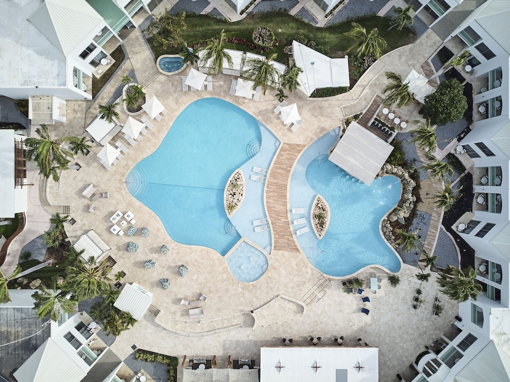 Aerial View, Courtyard by Marriott Aruba Resort