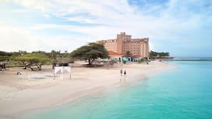 Beach nearby, white sand, free beach shuttle, free beach cabanas