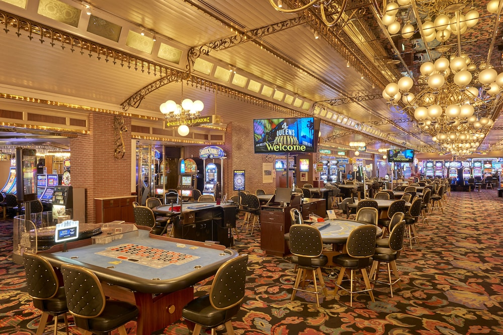 Casino, Four Queens Hotel and Casino (No Resort Fee)
