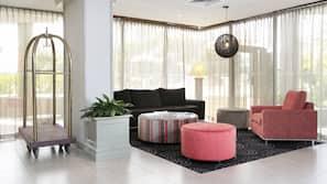 Premium bedding, minibar, iron/ironing board, cribs/infant beds