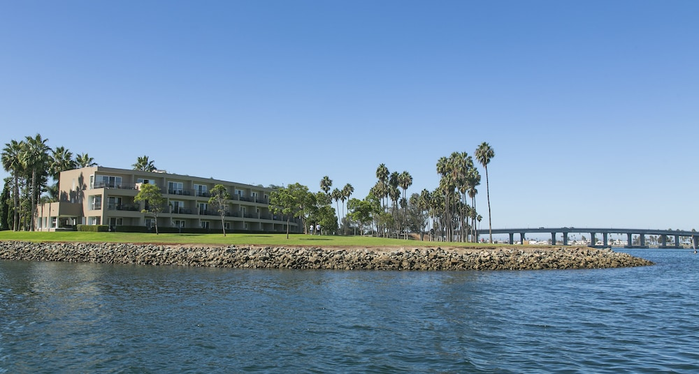 Water view, The Dana on Mission Bay