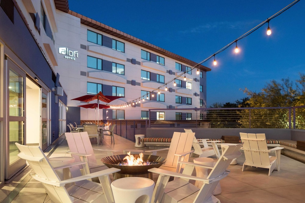 Terrace/Patio, Aloft Scottsdale