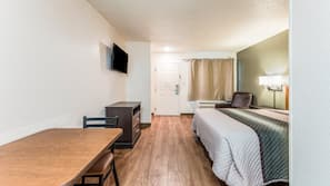 Desk, free WiFi, bed sheets, wheelchair access