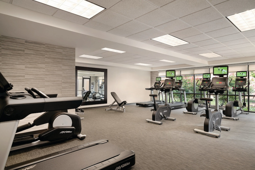 Fitness Facility, Courtyard by Marriott Charlotte Airport North
