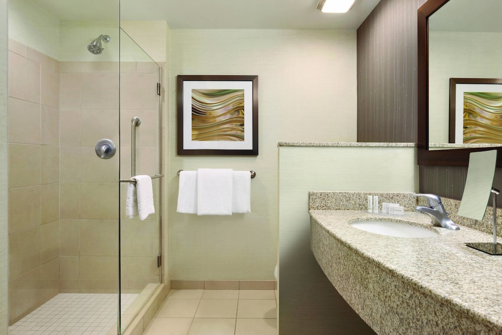 Bathroom, Courtyard by Marriott Charlotte Airport North