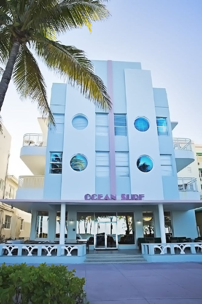 Front of Property, Ocean Surf Hotel