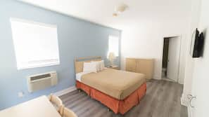 In-room safe, blackout drapes, iron/ironing board, free Internet