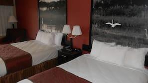 Ropa de cama de alta calidad y tabla de planchar con plancha