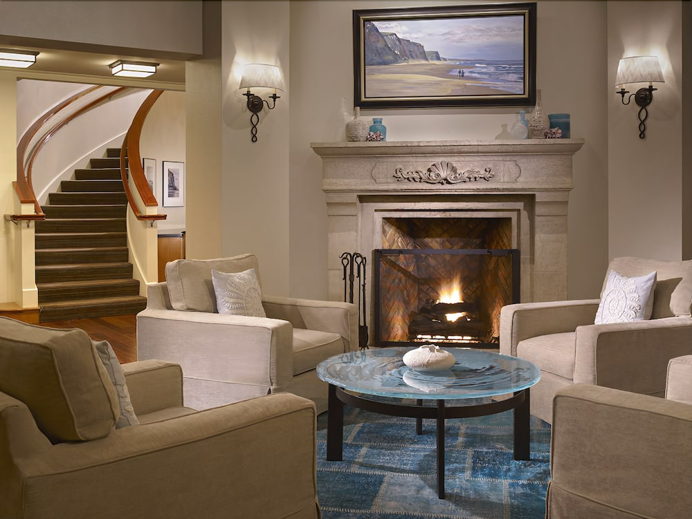The Beach House Hotel Half Moon Bay 3 5 Out Of 0 Ocean View Featured Image Lobby Sitting Area