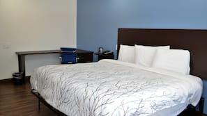 책상, 무료 유아용 침대, 무료 WiFi, 알람 시계