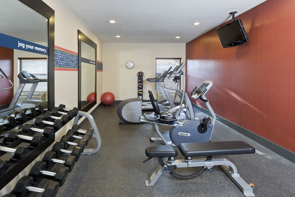 Fitness Facility, Hampton Inn San Angelo