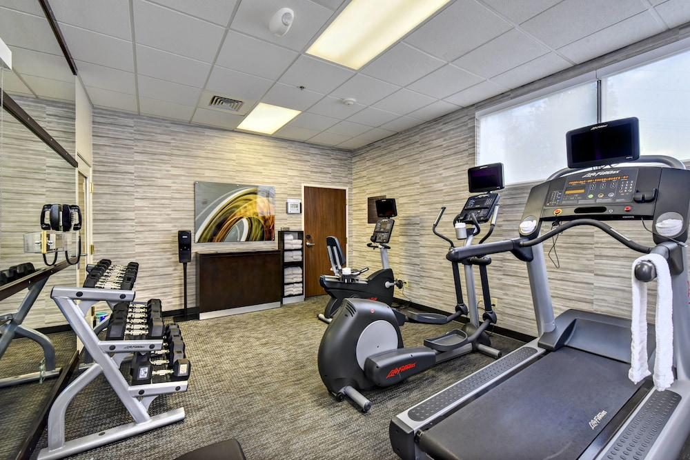 Fitness Facility, Courtyard by Marriott Downtown Boise