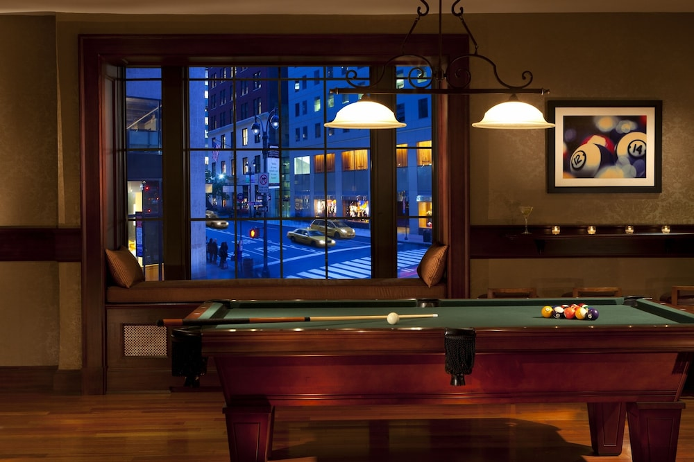 Billiards, The Roosevelt Hotel, New York City
