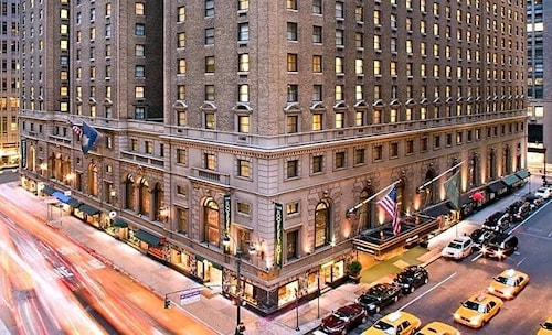 Exterior, The Roosevelt Hotel, New York City