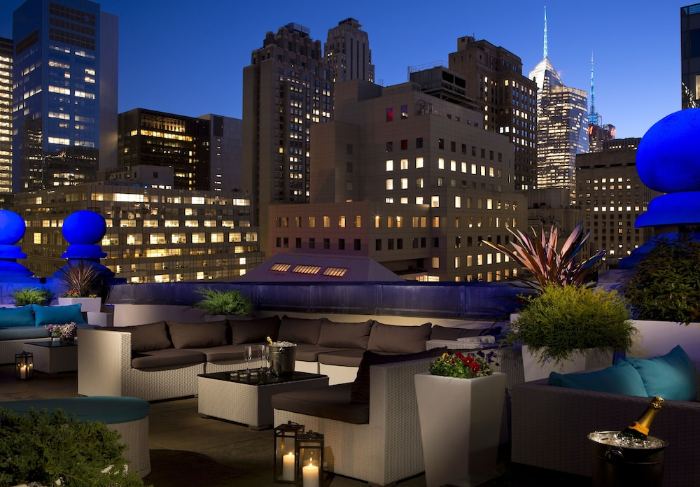 Terrace/Patio, The Roosevelt Hotel, New York City