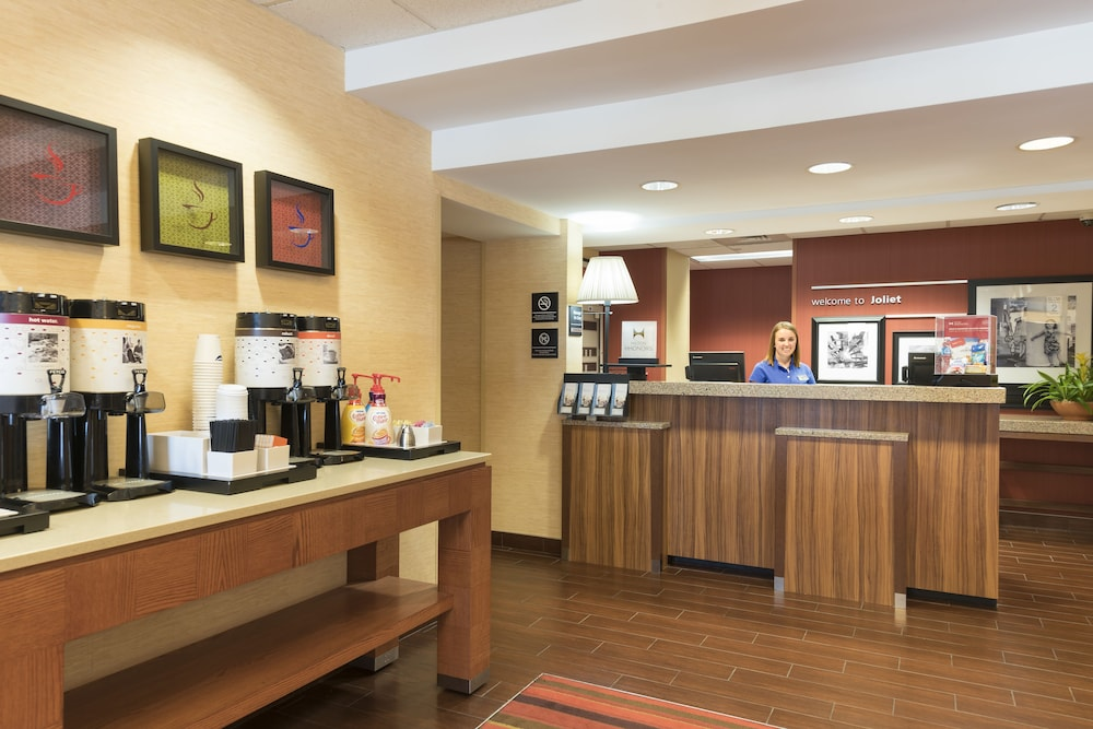 Interior Entrance, Hampton Inn Joliet I-80