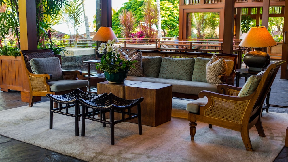 Lobby Sitting Area, Four Seasons Resort Hualalai