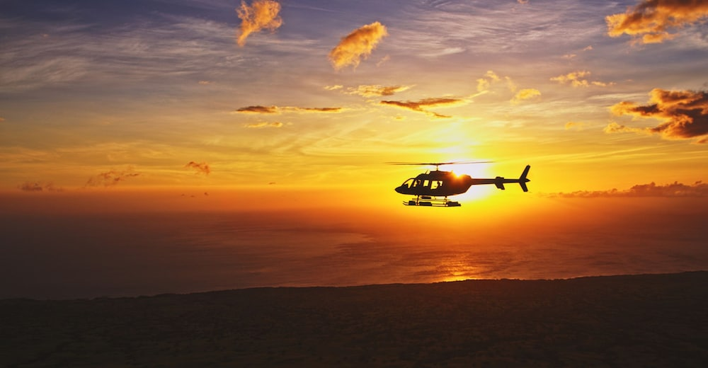 Helicopter/Plane Tours, Four Seasons Resort Hualalai