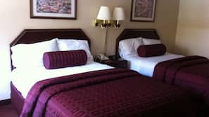 Pillowtop beds, free WiFi, linens, wheelchair access