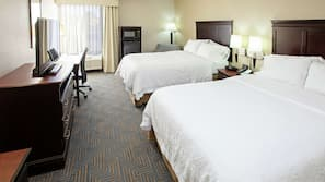 Down comforters, in-room safe, desk, iron/ironing board