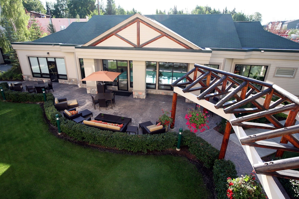 Exterior, Courtyard by Marriott Anchorage Airport