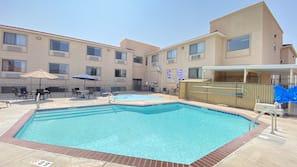 Seasonal outdoor pool