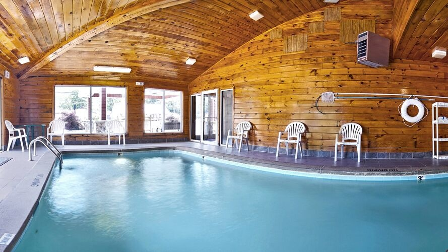 Indoor Pool, Ramada by Wyndham Maggie Valley