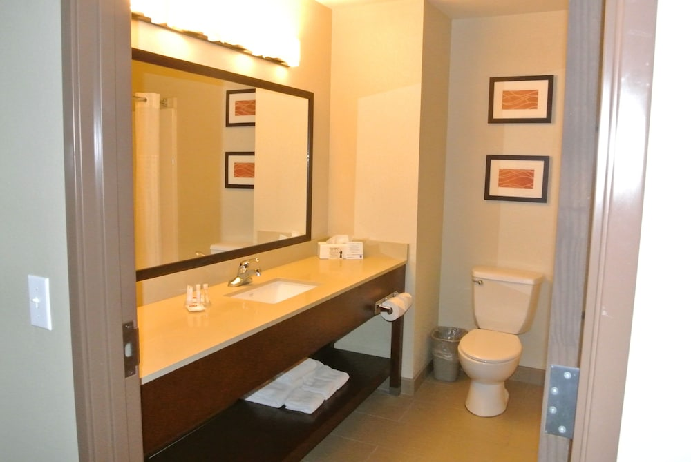 Bathroom, Comfort Inn & Suites Hazelwood - St. Louis