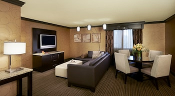 One Bedroom Parlor Suite - Living Area