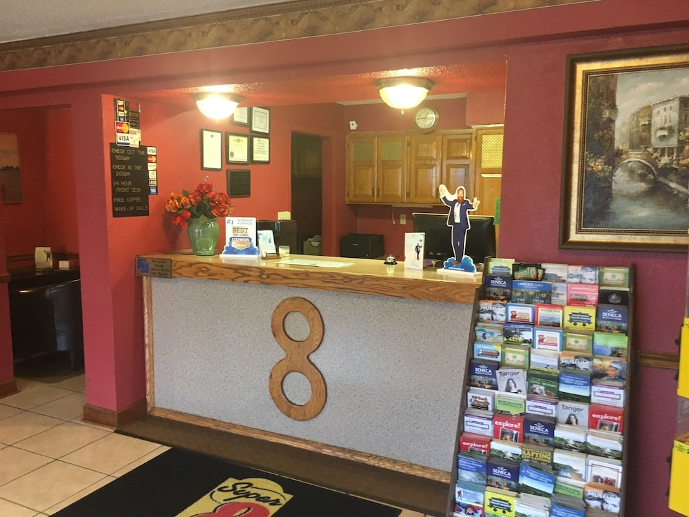 Reception, Super 8 by Wyndham New Castle