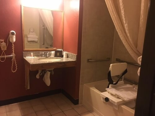 Bathroom, Super 8 by Wyndham New Castle