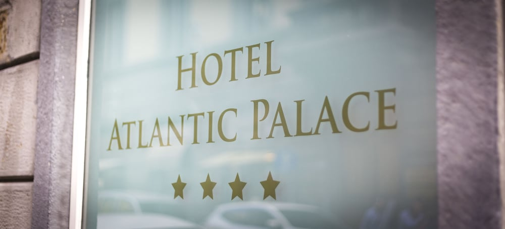 Exterior detail, Hotel Atlantic Palace