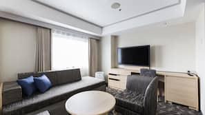1 bedroom, down comforters, in-room safe, desk