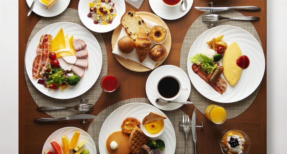 Breakfast buffet, Imperial Hotel Osaka