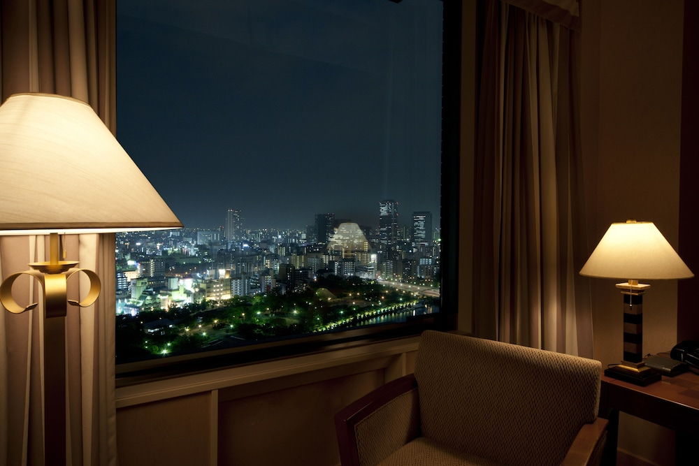 View from Room, Imperial Hotel Osaka